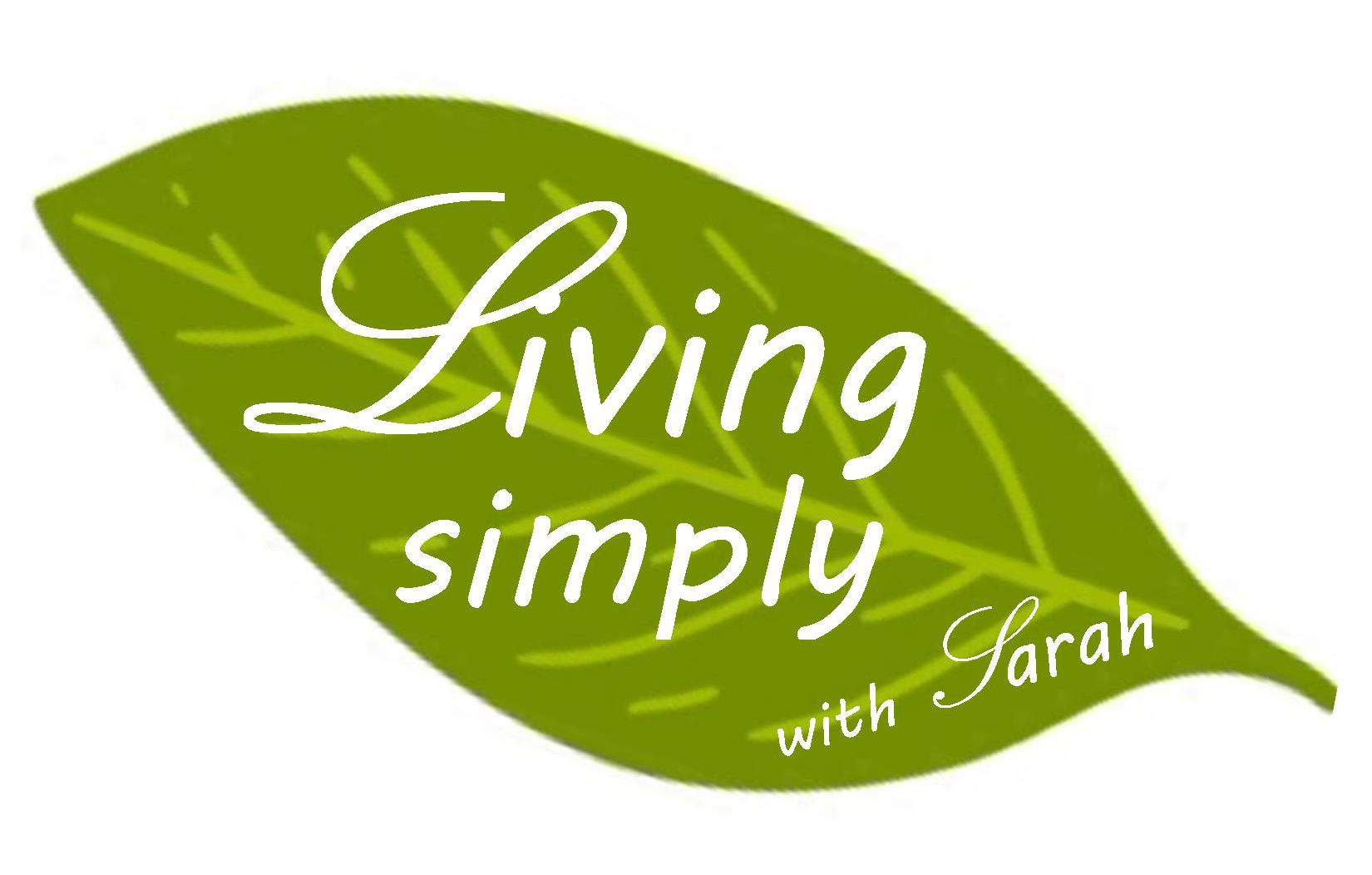 Living Simply with Sarah